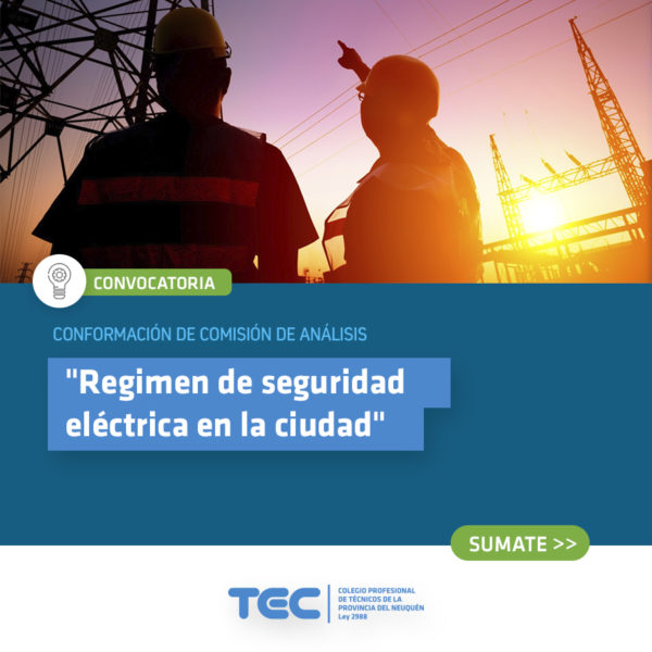 convocatoria - seguridad electrica